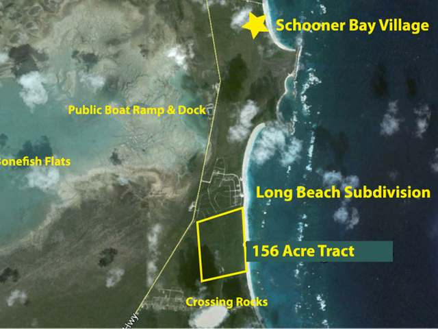 156 Acres beachfront